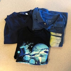 Three Boys shirts from Children's Place